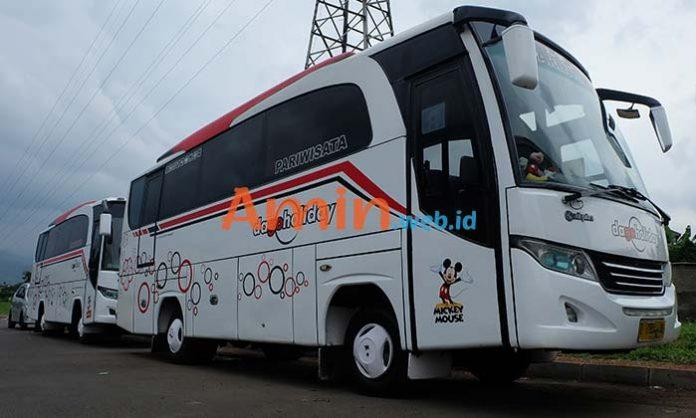 Harga Sewa Bus Pariwisata di Bandung Murah Terbaru