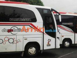 Harga Sewa Bus Pariwisata di Bekasi Murah Terbaru