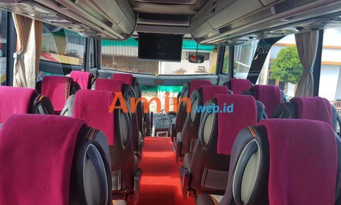Harga Sewa Bus Pariwisata di Ciamis Murah Terbaru