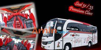Harga Sewa Bus Pariwisata di Cianjur Murah Terbaru