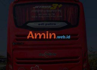 Harga Sewa Bus Pariwisata di Cilacap Murah Terbaru