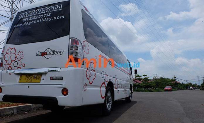 Harga Sewa Bus Pariwisata di Cimahi Murah Terbaru