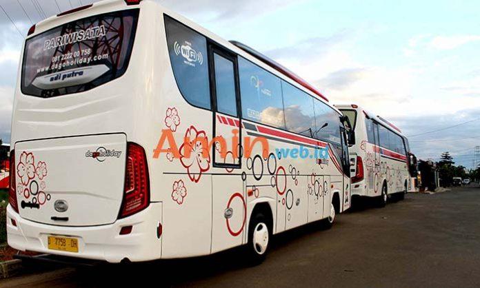 Harga Sewa Bus Pariwisata di Garut Murah Terbaru