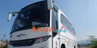 Harga Sewa Bus Pariwisata di Indramayu Murah Terbaru