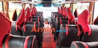 Harga Sewa Bus Pariwisata di Majalengka Murah Terbaru