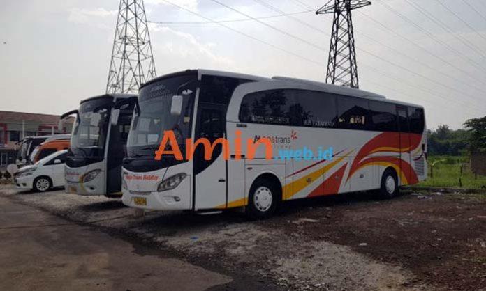 Harga Sewa Bus Pariwisata di Nganjuk Murah Terbaru