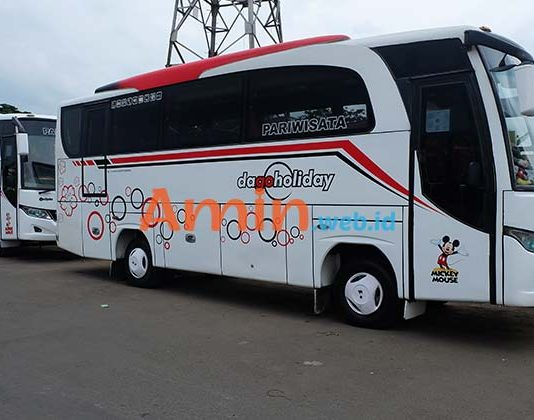 Harga Sewa Bus Pariwisata di Tasikmalaya Murah Terbaru