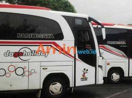 Harga Sewa Bus Pariwisata di Cilegon Murah Terbaru