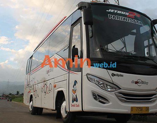 Harga Sewa Bus Pariwisata di Serang Murah Terbaru
